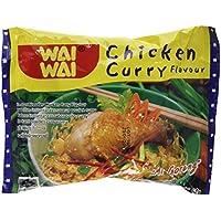Waiwai Set de 5 Nouilles Instant Poulet Curry 300 g -