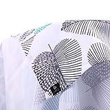 GWELL Tischdecke Eckig Abwaschbar Oxford Tischtuch Pflegeleicht Schmutzabweisend Farbe & Größe wählbar Muster-C 140 * 180cm - 2