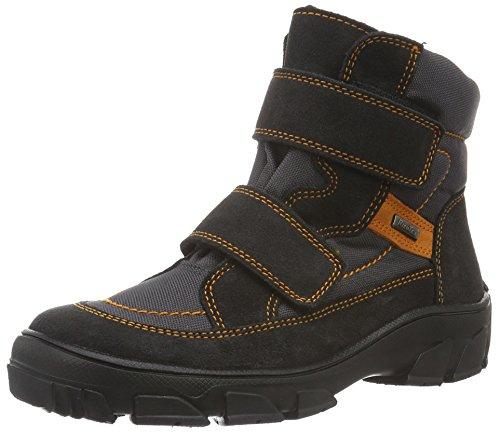 Richter Kinderschuhe Jungen Kite Boots, Grau (Steel/Stone/Mandarin 6501), 33 EU