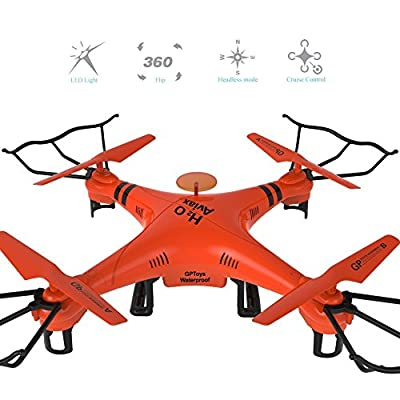 Waterproof GPToys H2O Aviax 2.4G 4CH 6 Axis gyro Headless Mode 3D Rolling RC Quadcopter RTF