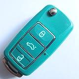 inionâ ® Ersatz Schlüssel Gehäuse mit anderen Farben auf Anfrage erhältlich. 3taste Fernbedienung Schlüsselanhänger Flip Schlüssel Schlüssel mit Rohling Schlüssel Gehäuse ohne Transponder oder Elektronik.