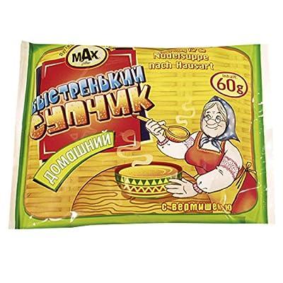 """Nudelfertigsuppe """"Bistrenjkij Suptschik"""" nach Hausart"""