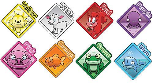 Inspirierende Spielplätze p329901/20,3cm Farbe Zeichen, Educational Toy (Set von 8) (Zeichen Inspirierende)