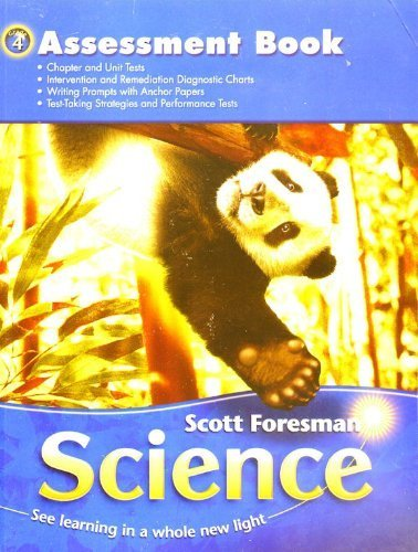scott-foresman-science-grade-4-assessment-book
