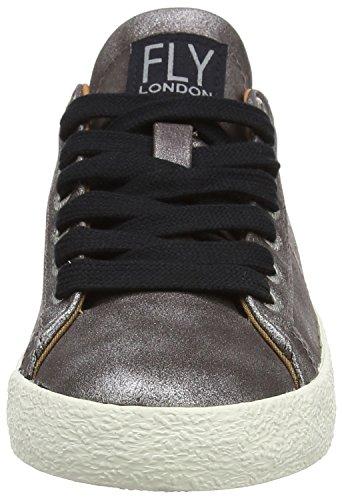 FLY London Damen Berg823fly Sneakers Grau (Grey)