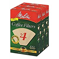 Melitta #4 Cone Coffee Filters, 300 ct. (pack of 2)