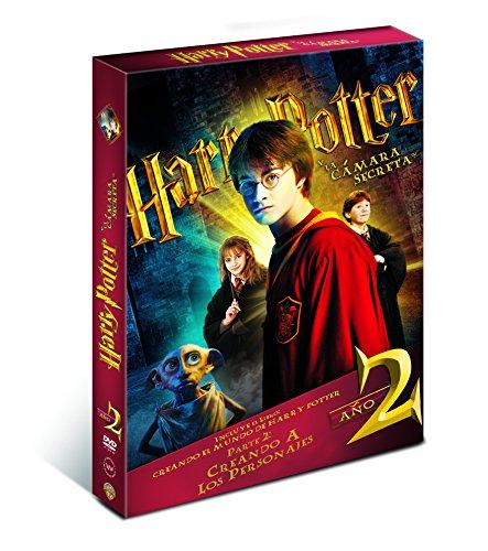 Harry Potter Y La Cámara Secreta. Nueva Edición Con Libro [DVD]