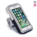 Bracciale: porta cellulare custodia fascia da braccio con cerniera/mobile Exercise running allenamento