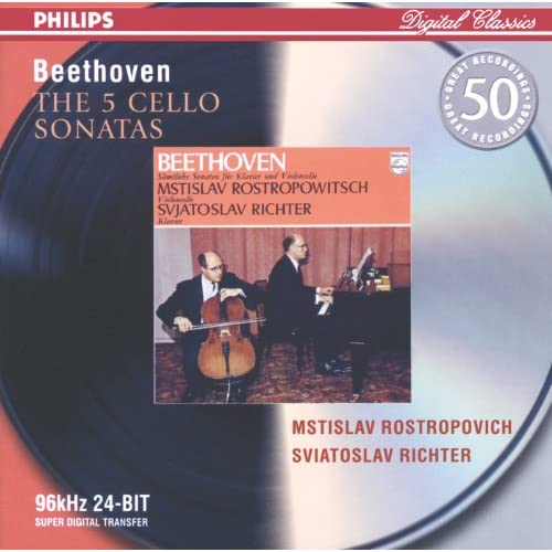 Beethoven: Sonata for Cello and Piano No.2 in G minor, Op.5 No.2 - 1. Adagio sostenuto ed espressivo/ Allegro molto più tosto presto
