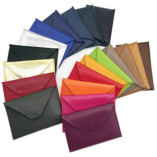 Charmoni - Lutin -porte Papiers Voiture Enveloppe Permis De Conduire Carte Grise, Rouge, Taille uniqu