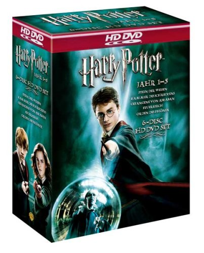 Harry Potter 1-5 HD DVD Box exklusiv bei Amazon (6 Discs)