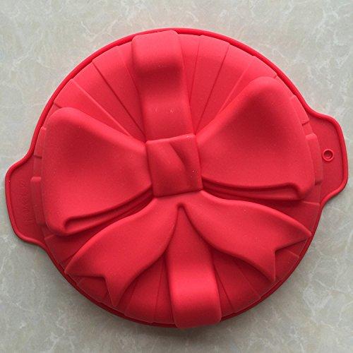 LC Schleife E017Silikon Muffin Tassen handgefertigte Seife Formen Biscuit Schokolade Eis Kuchen Form zum Backen Kuchen, Pfanne - Huhn Silikon-schimmel