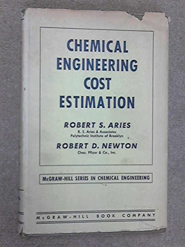 Chemical Engineering Cost Estimation (Chemical Engineering S.) por R.S. Aries