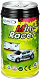 [Zufallsfarbe]Mini RC Raser ferngesteuertes 1: 63 Auto, Coladose Verpackung, Fernsteuerung mit Ladefunktion inkl. Zubehör