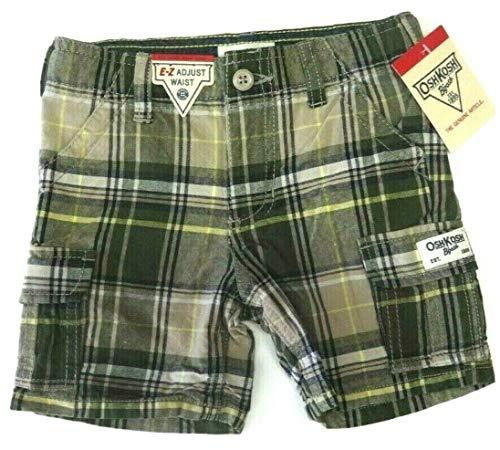 OshKosh B'Gosh Shorts Größe 74/80 Kurze Hose Junge USA Size 12 Month Sommer grün kariert - Oshkosh Jungen Shorts