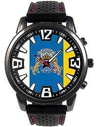 Islas Canarias España Reloj para hombre con correa de silicona