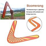 waysad Boomerangs Back in Legno A Forma di V Classic New Australian Boomerang Back Hand per Attrezzature Sportive All'aperto Giochi All'aperto per Bambini Giocattoli Sportivi per Adulti Respectable