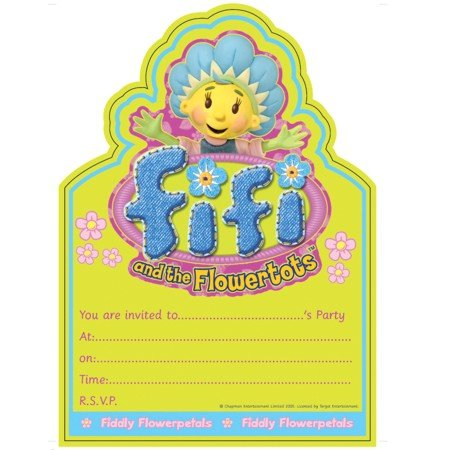 Fifi And The Flowertots Invitations (20pk)