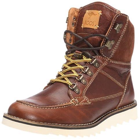 KangaROOS Chieftain, Herren Hohe Sneakers, Rot (redbrown 630), 41 EU