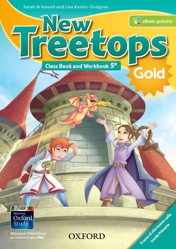 New treetops. Class book-Workbook. Ediz. gold. Per la Scuola elementare. Con e-book. Con espansione online. Con Libro: Culture companion: 5