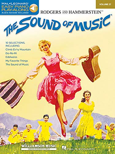 Easy Piano CD Play-Along Volume 27: The Sound Of Music (Book/Online Audio) (Book & CD)
