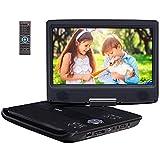 Pumpkin Lecteur DVD Portable Voiture 10.1 Pouce Région Libre Soutient USB/SD, CD /...