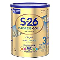 Wyeth S-26 Progress Gold Stage 3, 1-3 Years Premium Milk Powder For Toddlers Tin 1.6kg