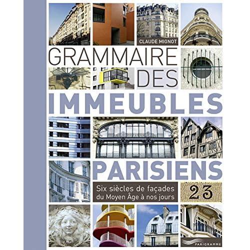 Grammaire des immeubles parisiens 2013