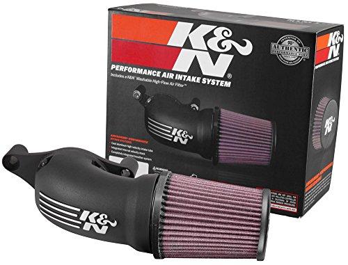 63-1139 K&N Performance Air Intake System AirCharger; H/D Touring Modelle; 2017-2018 (Powersports Luftfilter) (K N Air Intake System)