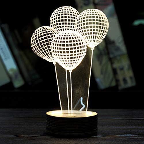 7 Watt-tier-licht (3D Kreatives Nachtlicht Acryl Geschenk Usb Marker Energiesparendes Licht Led Tischlampe Tier D 24 * 21 * 5 Mm)
