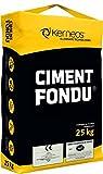 Kerneos Ciment Fondu Tonerdezemente 25 kg - Für Chemie- und Feuerfestindstrie - auch als Schnellbinder einzusetzen