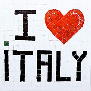 Trois petits points Kit de Mosaico Completo de Tres Puntos, Modelo Love Italy-Geant+, 6192459601151, Universal