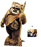 Wicket The Ewok Star Wars Lifesize Lebensgrosse Pappaufsteller mit 25cm x 20cm foto