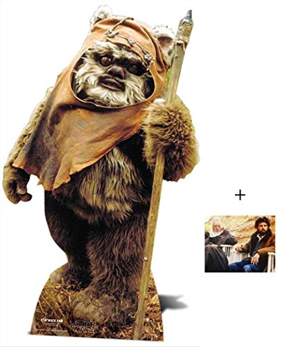 Wicket The Ewok Star Wars Lifesize Lebensgrosse Pappaufsteller mit 25cm x 20cm foto