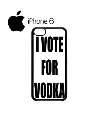 I Vote For Vodka Tumblr Instagram Facebook Fashion Quote Mobile Phone Case  Cover IPhone 6 Plus + White: Amazon.co.uk: Books