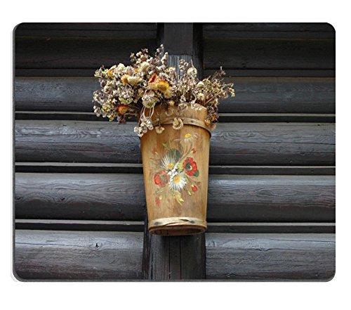 Liili Mouse Pad-Tappetino per Mouse in gomma naturale, in legno dipinto-Vaso per piante, a muro ID 21769486 immagine