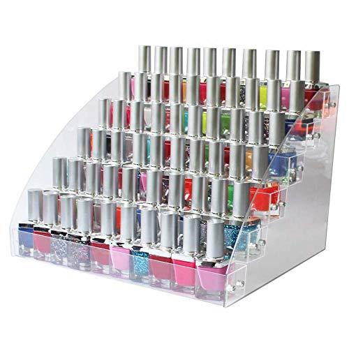 N/ YAOUXSN Aufbewahrungsbox Transparente Mehrschichtige Nagellack Lippenstift Lipgloss Display Showcase Kosmetik Optional Home Organizer 6 Schichten