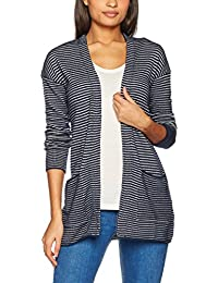 Tom Tailor Striped Long Cardigan, Gilet Femme