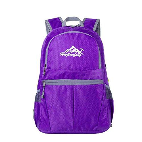 SZH&BEIB Faltbare Außen Rucksack Wasserdichte Nylon für Reit Tasche Klettern Wandern Wasser-Beutel D