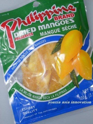 10er Pack PHILIPPINE getrocknete Mangos [10x 100g] Mango-Streifen