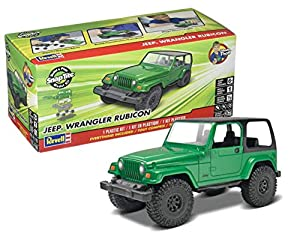 Kit de Modelos de plástico, Jeep Wrangler Rubicon, escala 1:25