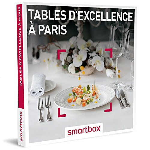 SMARTBOX - Tables d'excellence à Paris - Coffret cadeau gastronomique - À choisir...