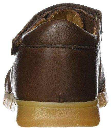 Bisgaard Sandalen, Sandales  Bout ouvert mixte enfant Marron (302 Brown)