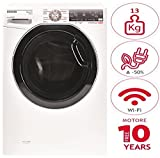 Hoover DWFT 413AH/1-30 Libera installazione Carica frontale 13kg 1400Giri/min Bianco lavatrice