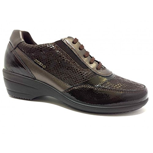 ENVAL SOFT 89862 Sneakers Naplak/Tejus Caffè Zeppa 5,5 Memory Foam Caffè