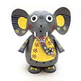 Gall&Zick Spardose Sparschwein Sparbüchse Dekoration Elefant Metall Handbemalt (Elefant)