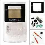 Ersatz Full Gehäuse Shell Schutzhülle für Nintendo Gameboy Color GBC, transparent