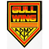 Gullwing Trucks Gullwing Army Old School / NOS Skateboard Sticker Rare