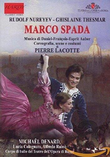 Preisvergleich Produktbild Ballett-DVDs - Rudolf Nureyev - Marco Spada