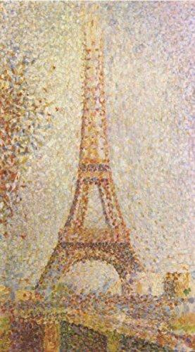 1art1 51686 Georges Seurat - Der Eiffelturm Selbstklebende Fototapete Poster-Tapete 180 x 100 cm